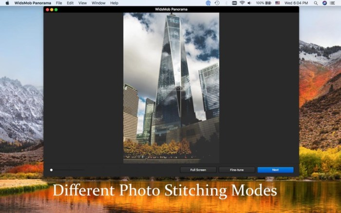 WidsMob Panorama-Photo Stitch Screenshot 02 131ea5n