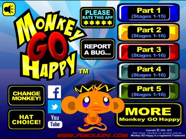 Monkey GO Happy Screenshot