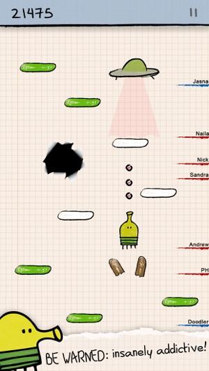 Doodle Jump - Insanely Good! Screenshot