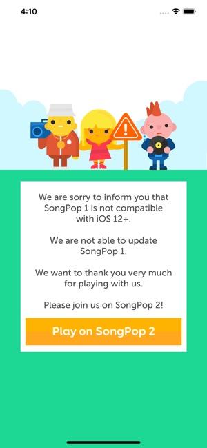 SongPop 1 Screenshot