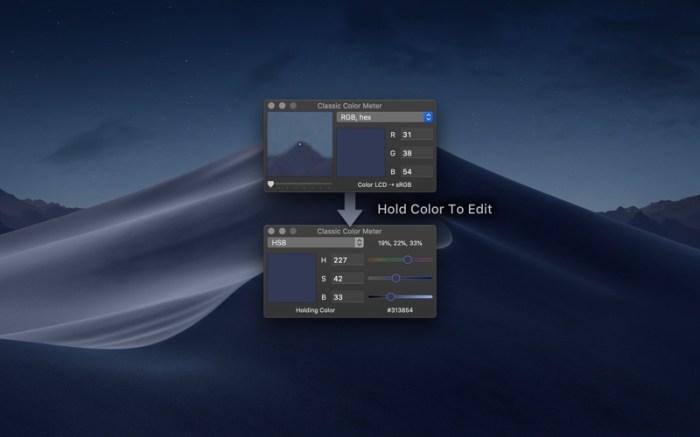 Classic Color Meter Screenshot 02 f0tgcxn