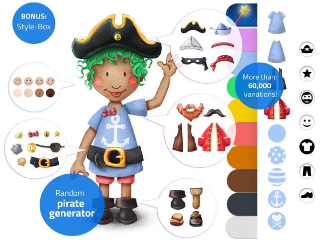 Tiny Pirates: Toddler's App Screenshot