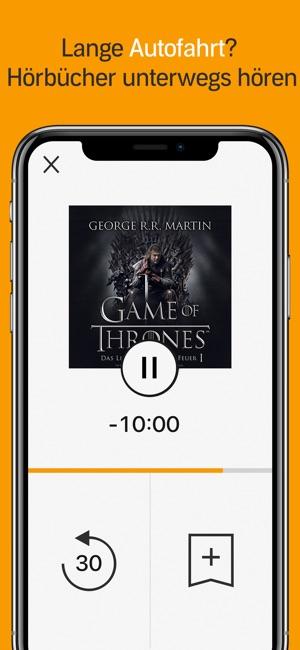 Audible - Hörbücher & Podcasts Screenshot