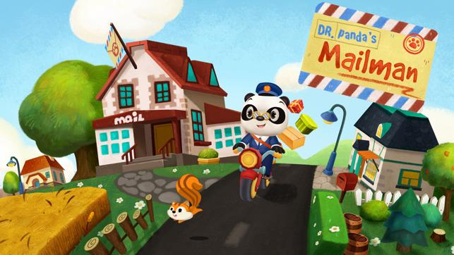 Dr. Panda Postbode Screenshot