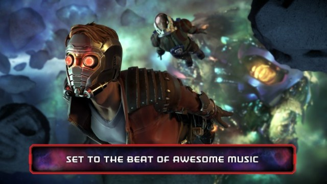Guardians of the Galaxy TTG Screenshot
