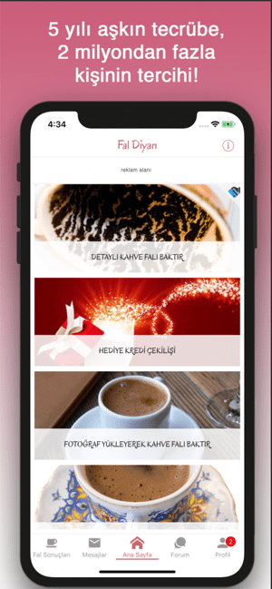 Fal Diyarı - Kahve Falı Screenshot