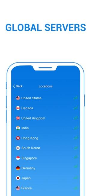 SkyVPN - Best VPN Proxy Shield Screenshot