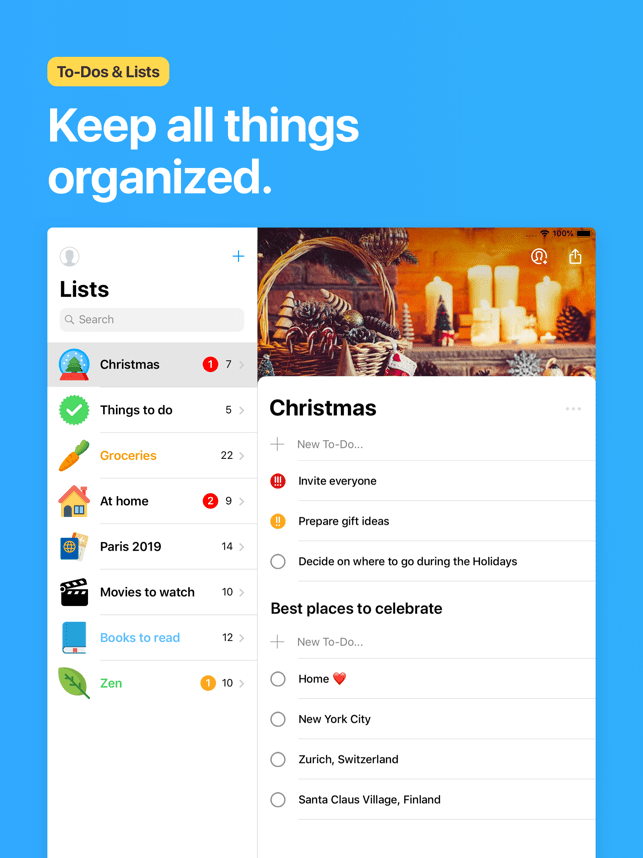 ‎Pocket Lists Screenshot