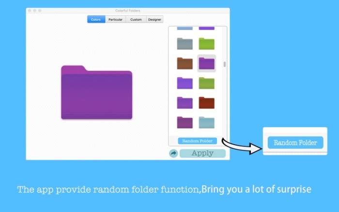 Colorful Folders Screenshot 03 12v3t5n