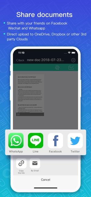 CamScanner-Scanner to scan PDF Screenshot
