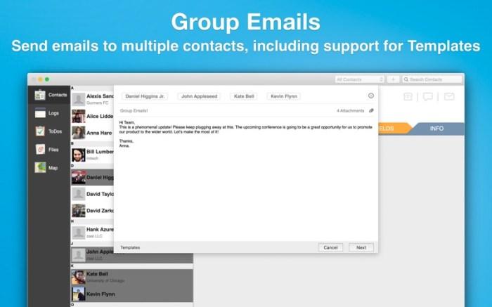 Contacts Journal CRM Screenshot 06 130hzhn