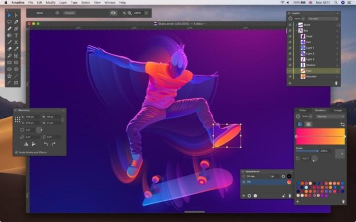 Amadine - Vector Graphics App Screenshot 04 cf188mn