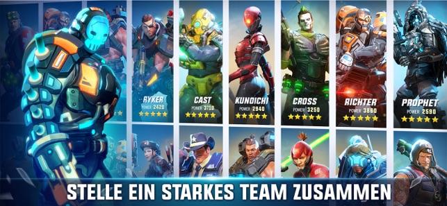 Hero Hunters Screenshot