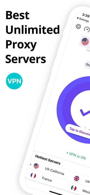 VPN Clean: Super proxy master Screenshot