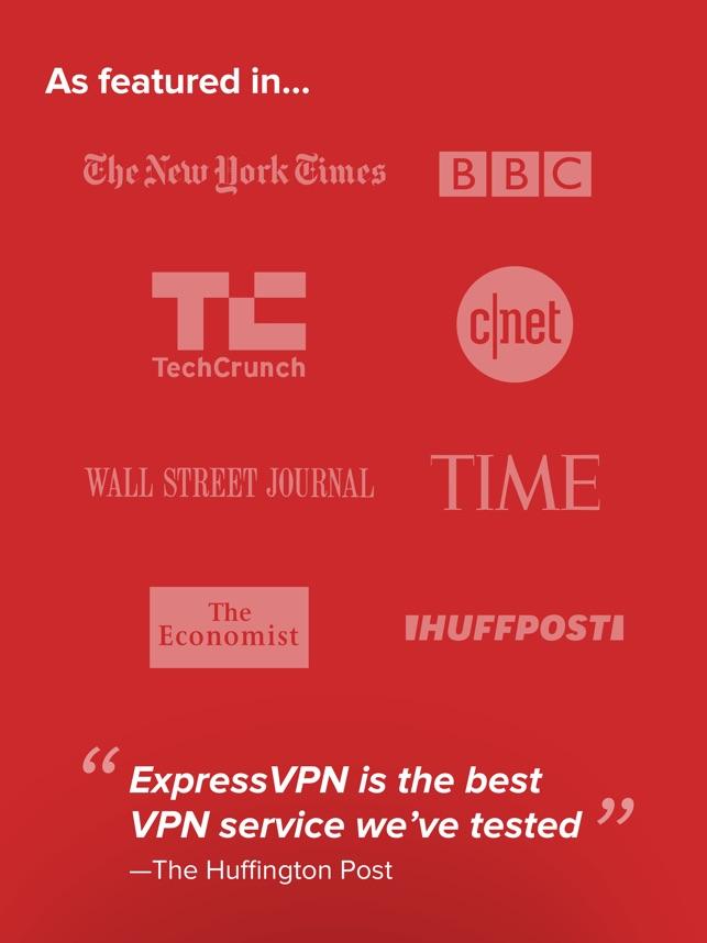 ExpressVPN: VPN Proxy for WiFi Screenshot
