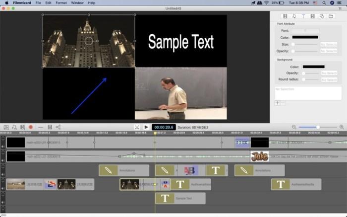 Filmwizard Screenshot 02 ikzegan