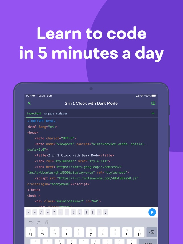 ‎Mimo: Learn Coding/Programming Screenshot