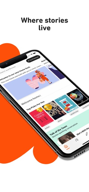 ‎Wattpad - Read & Write Stories Screenshot