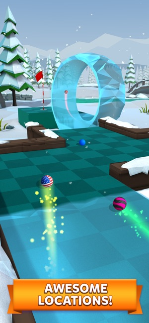 ‎Golf Battle Screenshot
