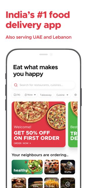 Zomato: Food Delivery & Dining Screenshot