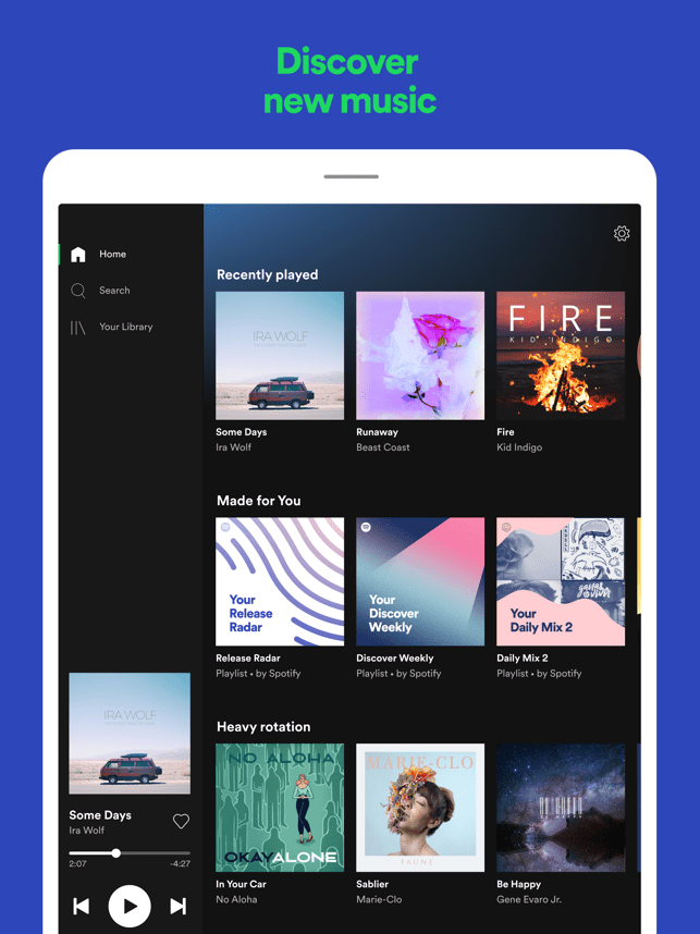 ‎Spotify: Discover new music Screenshot