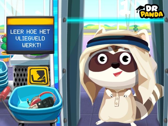 Dr. Panda Vliegveld Screenshot