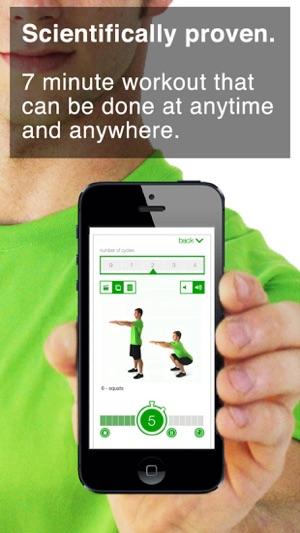 7 Minute Workout Challenge Screenshot