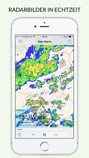 Rain Alarm XT - Regen-Alarm Screenshot
