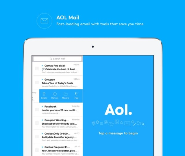 Aol News Email Weather Video On The App Store