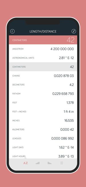 Amount - Unit Converter Screenshot
