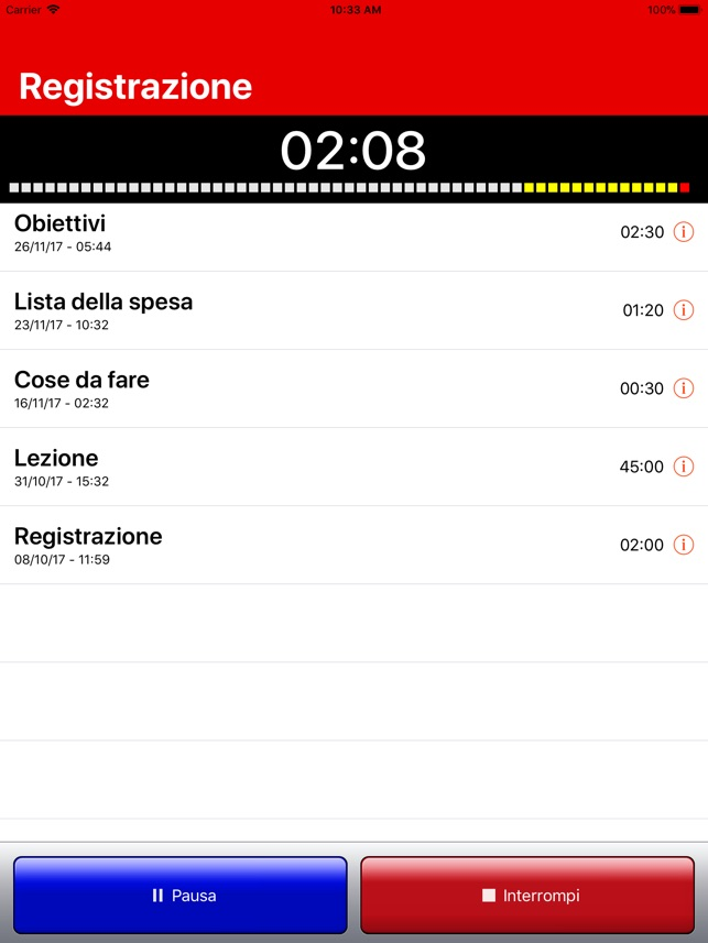iRecorder Pro - SimpleTouch Screenshot