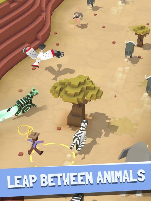 Rodeo Stampede Sky Zoo Safari Online Game Hack And