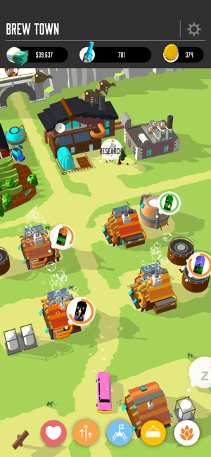 ‎Brew Town Screenshot