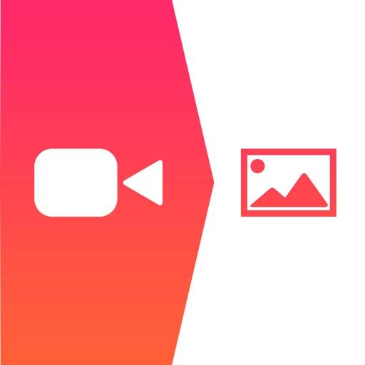 動画やビデオから画像をカメラロールに保存する - iDrip