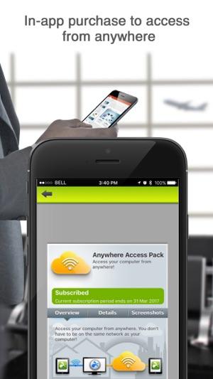 Splashtop Personal for iPhone Screenshot