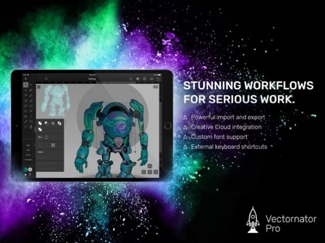 Vectornator Pro Screenshot