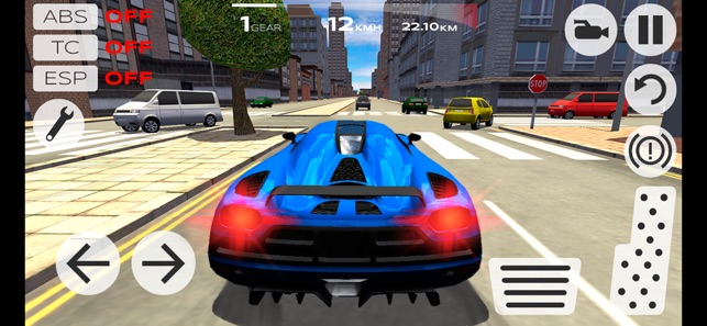 Extreme Car Driving Simulator on the App Store Screenshots