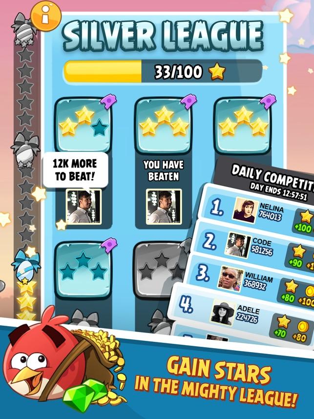 Angry Birds Classic HD Screenshot