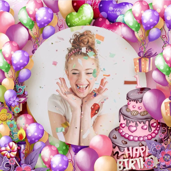 Birthday Photo Frame - Amazing Picture Frames & Photo Editor