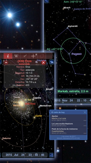 Redshift - Astronomía Screenshot