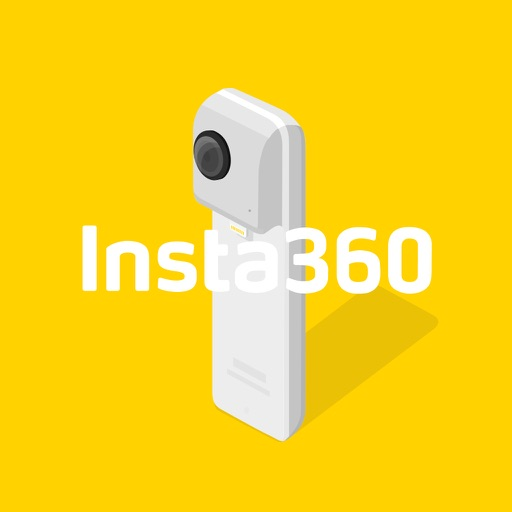 Insta360 Nano - Insta360 Nano spherical camera's special app for shooting 360-degree pictures and videos