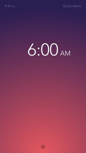 Rise Alarm Clock Screenshot
