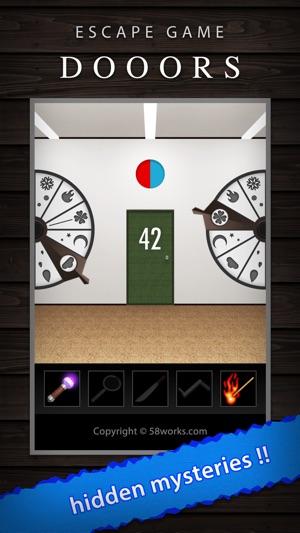 DOOORS - room escape game - Screenshot
