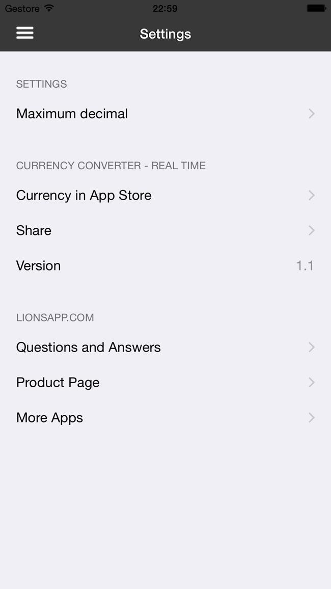 通貨のコンバーター - リアルタイム Screenshot