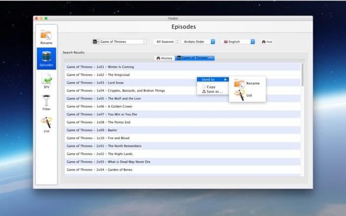 FileBot Screenshot 04 1hjqnian