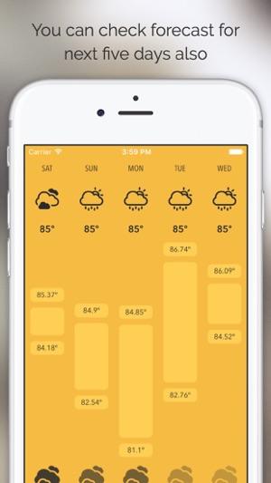 Meteo - Just Weather Forecast Screenshot