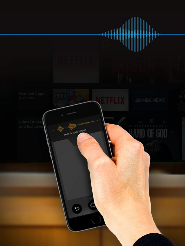 Amazon Fire TV Fernbedienung Screenshot