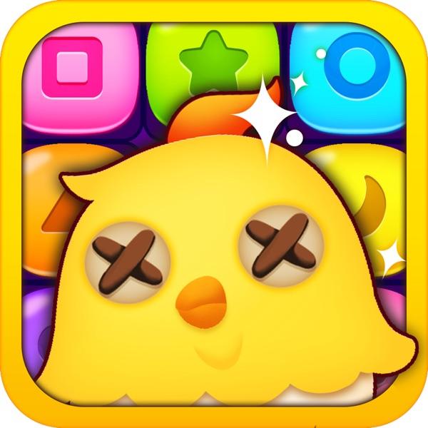 开心点点消-2016快乐方块宝石对对碰儿童免费网络游戏,天天果冻消消乐