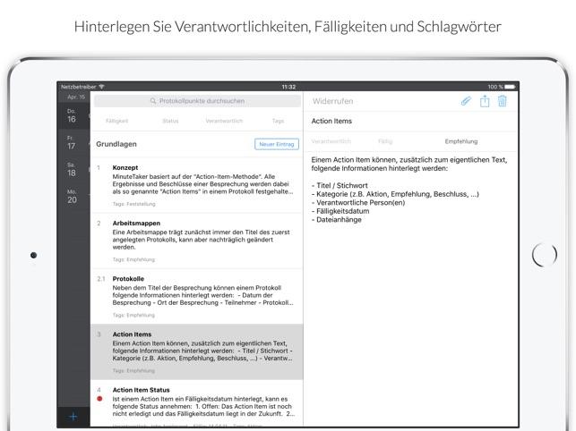 MinuteTaker 2 Screenshot