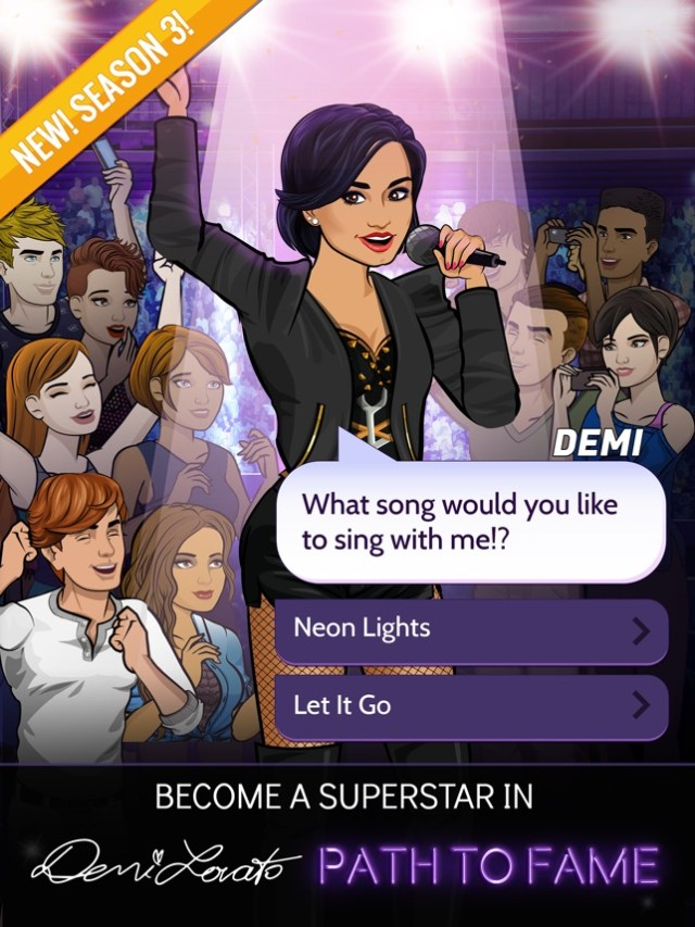 Demi Lovato: Path to Fame Screenshot
